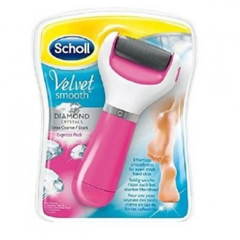 dr scholl velvet smooth lima electrónica dyamond crystals